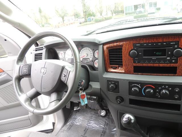 2006 Dodge Ram 3500 SLT 4dr Mega Cab / 4X4 / 5.9L DIESEL / 6-SPEED - Photo 18 - Portland, OR 97217