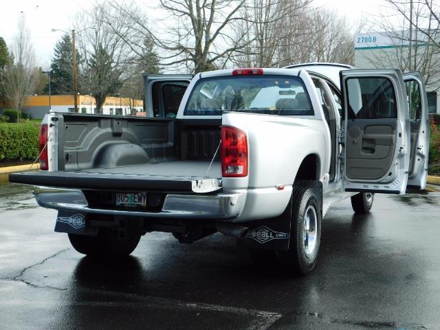 2004 Dodge Ram 3500 SLT  / 4x4 / Cummins 5.9L / ONLY 94K  / Excl Cond. - Photo 30 - Portland, OR 97217