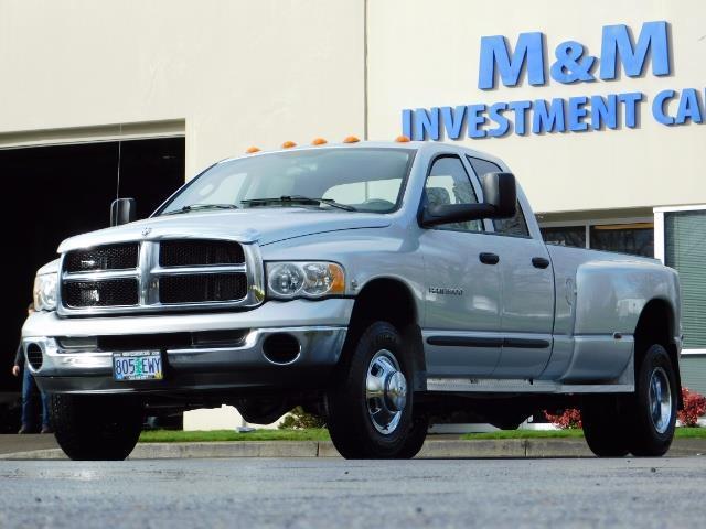 2004 Dodge Ram 3500 SLT  / 4x4 / Cummins 5.9L / ONLY 94K  / Excl Cond. - Photo 44 - Portland, OR 97217