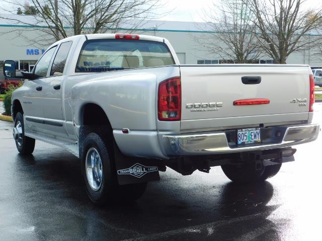 2004 Dodge Ram 3500 SLT  / 4x4 / Cummins 5.9L / ONLY 94K  / Excl Cond. - Photo 7 - Portland, OR 97217