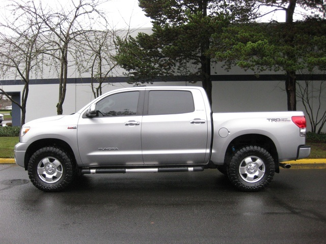 2007 toyota tundra crewmax limited 4x4 trd off road lifted. Black Bedroom Furniture Sets. Home Design Ideas