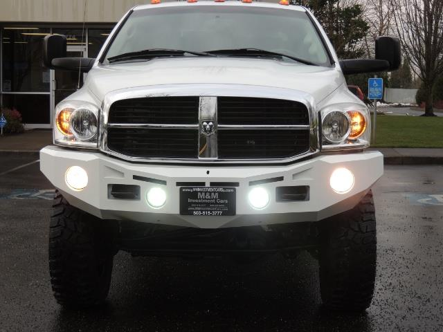 2007 Dodge Ram 3500 DUALLY 4X4 Mega Cab / 5.9 DIESEL / 6-Speed LIFTED - Photo 5 - Portland, OR 97217