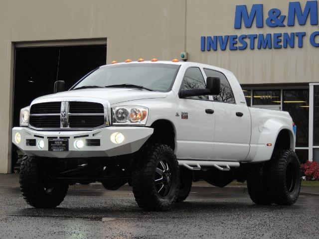 2007 Dodge Ram 3500 DUALLY 4X4 Mega Cab / 5.9 SEL / 6-Speed LIFTED