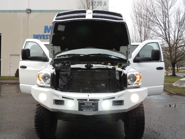 2007 Dodge Ram 3500 DUALLY 4X4 Mega Cab / 5.9 DIESEL / 6-Speed LIFTED - Photo 30 - Portland, OR 97217