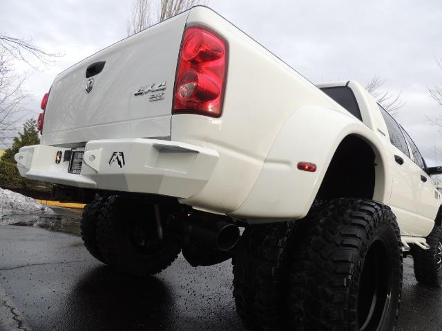 2007 Dodge Ram 3500 DUALLY 4X4 Mega Cab / 5.9 DIESEL / 6-Speed LIFTED - Photo 11 - Portland, OR 97217