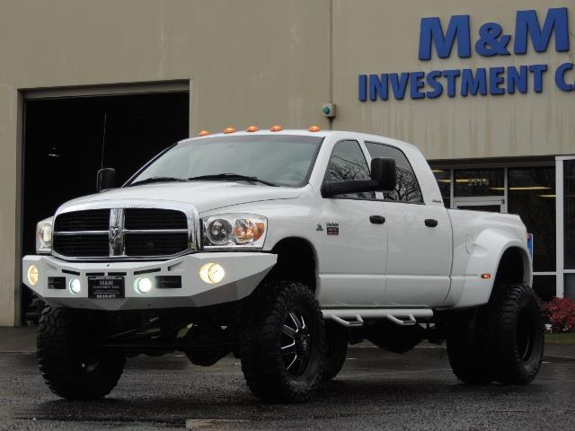 2007 Dodge Ram 3500 DUALLY 4X4 Mega Cab / 5.9 DIESEL / 6-Speed LIFTED - Photo 43 - Portland, OR 97217