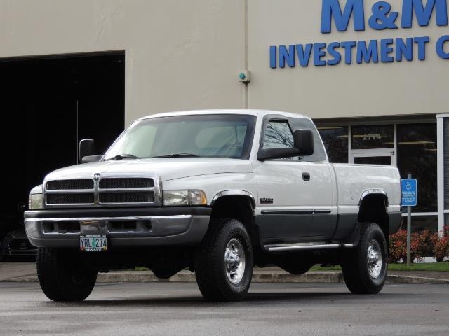 2002 Dodge Ram 2500 SLT Plus 4dr / 4X4 / 5.9L DIESEL HIGHOUTPUT/ 6-SPD - Photo 39 - Portland, OR 97217