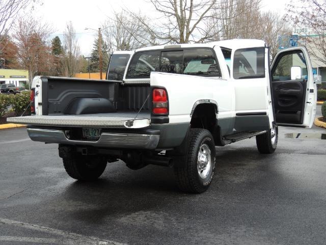 2002 Dodge Ram 2500 SLT Plus 4dr / 4X4 / 5.9L DIESEL HIGHOUTPUT/ 6-SPD - Photo 28 - Portland, OR 97217