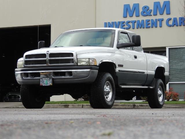 2002 Dodge Ram 2500 SLT Plus 4dr / 4X4 / 5.9L DIESEL HIGHOUTPUT/ 6-SPD - Photo 32 - Portland, OR 97217