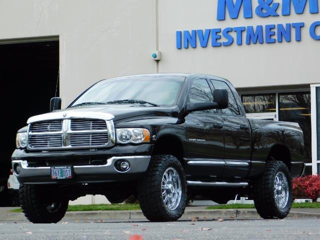 2005 Dodge Ram 2500 Laramie / 4X4 / 5.9L Cummins DIESEL / Leather - Photo 42 - Portland, OR 97217