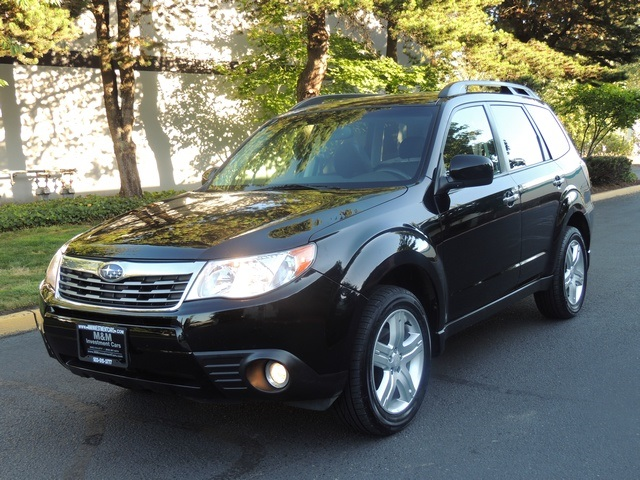 2009 subaru forester 2 5 x limited awd leather pano sunroof excel co. Black Bedroom Furniture Sets. Home Design Ideas