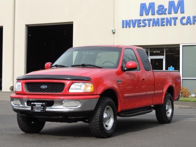 1998 Ford F 150 Xlt 4x4 4 6l 8cyl