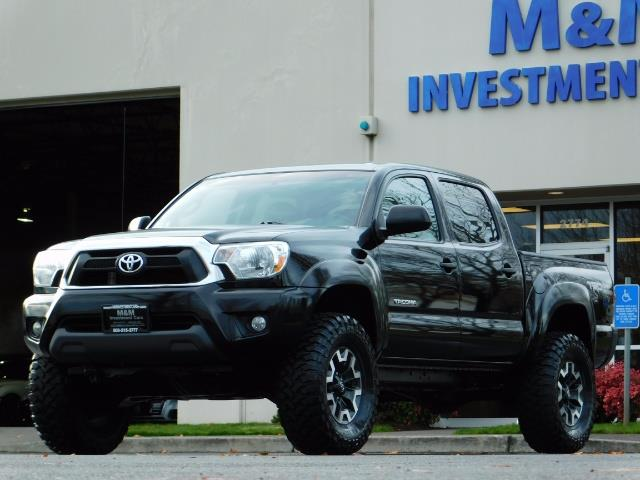 2014 Toyota Tacoma Double Cab 4WD TRD V6 LIFTED 1Owner FactoryWarrant - Photo 46 - Portland, OR 97217