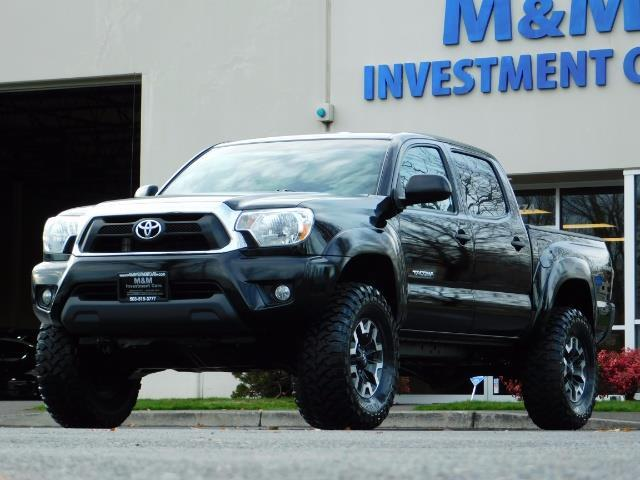 2014 Toyota Tacoma Double Cab 4WD TRD V6 LIFTED 1Owner FactoryWarrant - Photo 1 - Portland, OR 97217