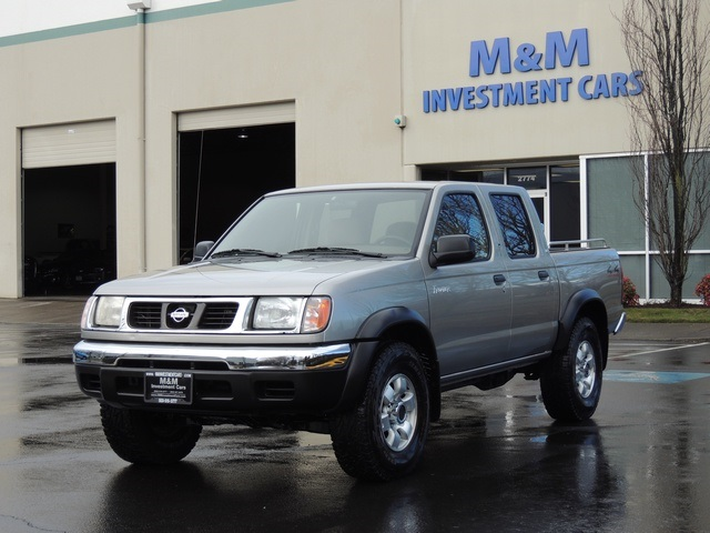 2000 Nissan Frontier Se 4x4 Crew Cab 94k New Tires Tacoma