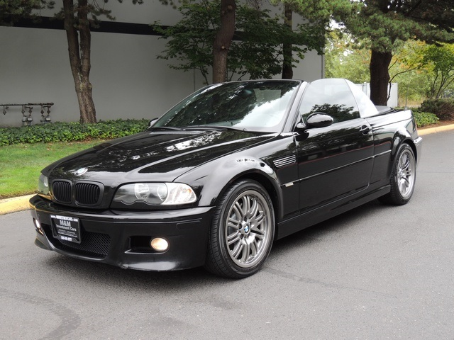 2003 Bmw M3 Convertible 6 Speed Manual Loaded Black