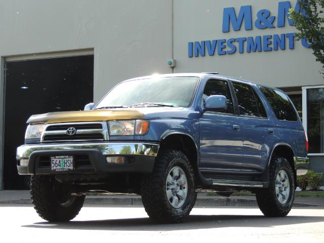 """2000 Toyota 4Runner SR5 4dr 4WD 3.4L 6Cyl LIFTED 33 """" Mud Tires - Photo 1 - Portland, OR 97217"""