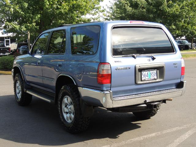 """2000 Toyota 4Runner SR5 4dr 4WD 3.4L 6Cyl LIFTED 33 """" Mud Tires - Photo 6 - Portland, OR 97217"""