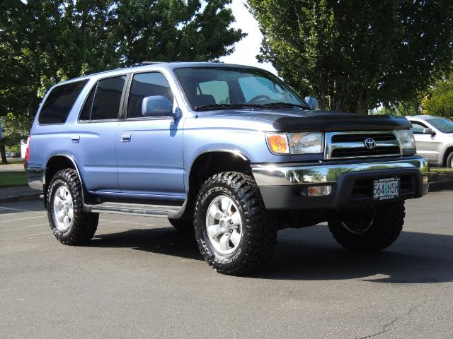 """2000 Toyota 4Runner SR5 4dr 4WD 3.4L 6Cyl LIFTED 33 """" Mud Tires - Photo 2 - Portland, OR 97217"""
