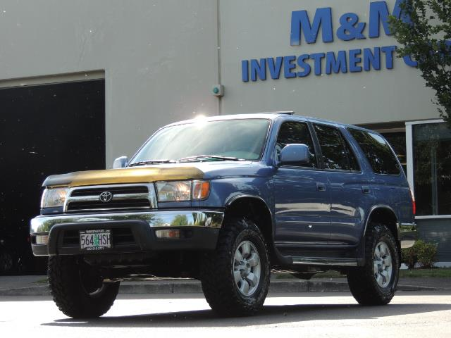 """2000 Toyota 4Runner SR5 4dr 4WD 3.4L 6Cyl LIFTED 33 """" Mud Tires - Photo 41 - Portland, OR 97217"""
