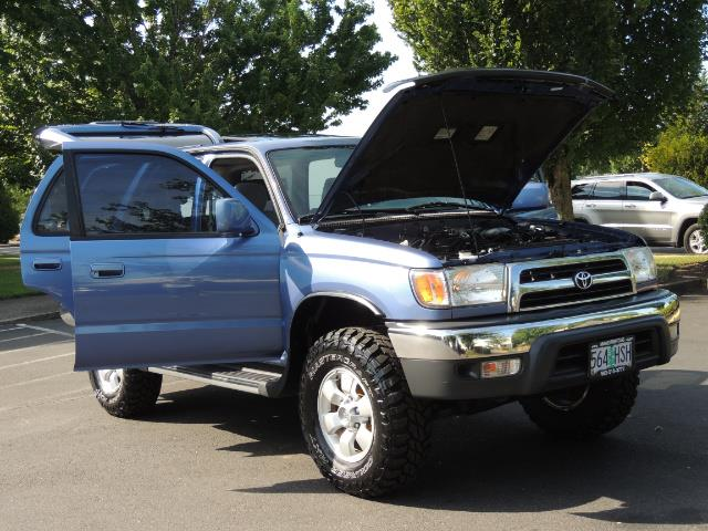 """2000 Toyota 4Runner SR5 4dr 4WD 3.4L 6Cyl LIFTED 33 """" Mud Tires - Photo 28 - Portland, OR 97217"""