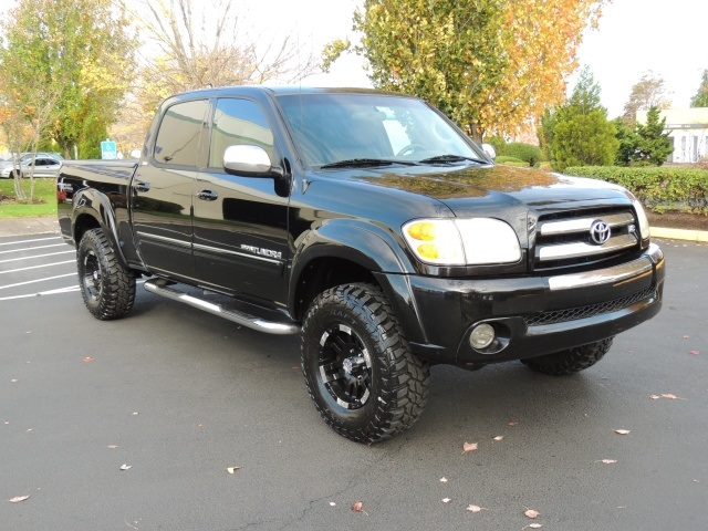 2004 toyota tundra v8 double cab 4wd leather lifted. Black Bedroom Furniture Sets. Home Design Ideas