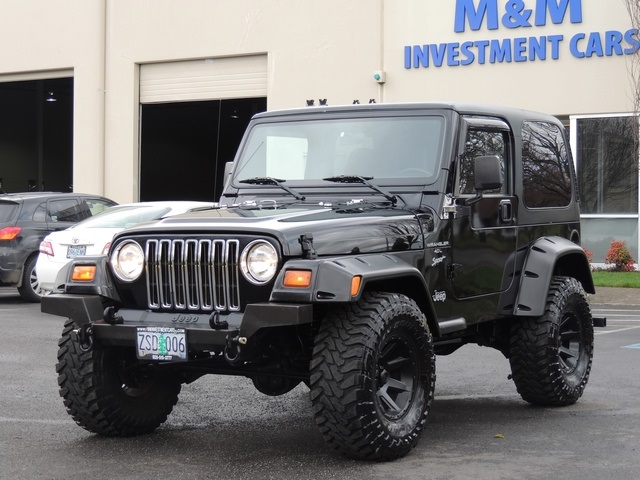 1999 Jeep Wrangler Sport / 4X4 / Automatic/ Hard Top / LIFTED LIFTED   Photo