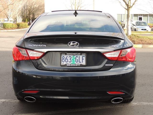 2013 Hyundai Sonata 2.0T Limited w/Navi / Leather / Loaded / 1-OWNER - Photo 6 - Portland, OR 97217