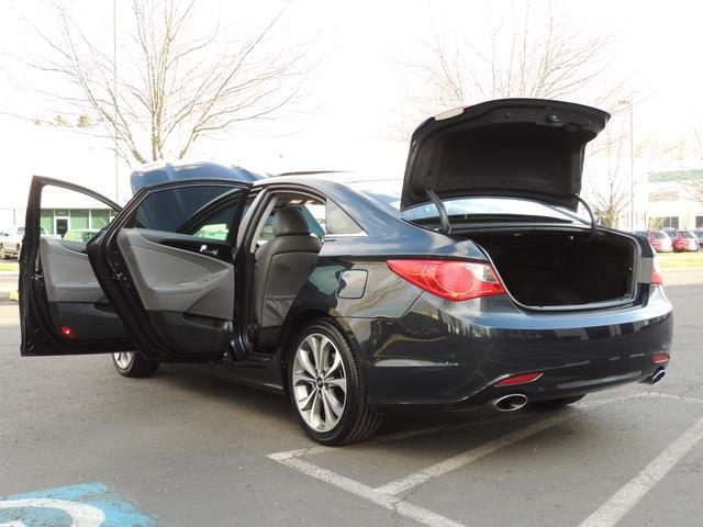 2013 Hyundai Sonata 2.0T Limited w/Navi / Leather / Loaded / 1-OWNER - Photo 27 - Portland, OR 97217