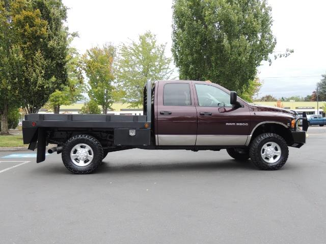 2004 dodge 3500 dually flatbed