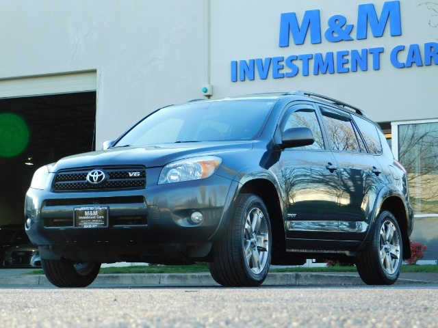 2008 Toyota RAV4 Sport / AWD / Sport Utility / Sunroof / 1-OWNER - Photo 1 - Portland, OR 97217