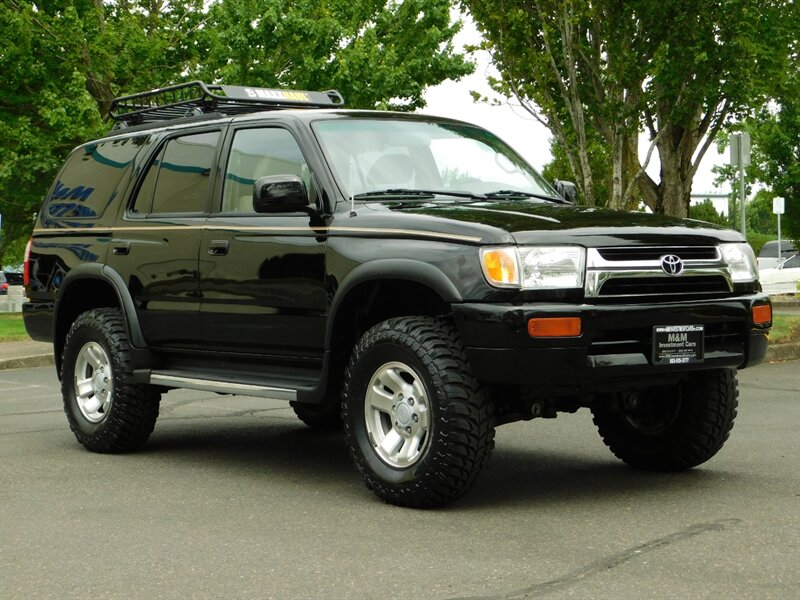 1997 toyota 4runner 4dr sr5 4x4 4cyl lifted w mud tires 153k miles 1997 toyota 4runner 4dr sr5 4x4 4cyl