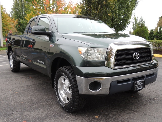 2008 Toyota Tundra DOUBLE CAB / 4X4 TRD OFF RD / Long Bed / 1