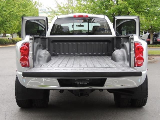 2008 Dodge Ram 3500 SLT 4dr Quad Cab / 4X4 / 6.7L DIESEL / BIGHORN ED - Photo 22 - Portland, OR 97217
