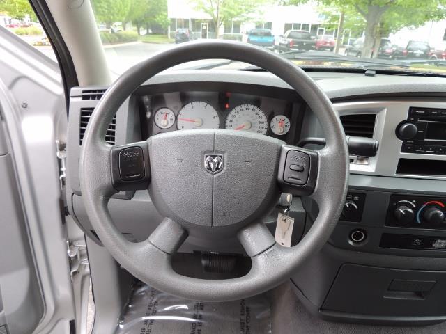 2008 Dodge Ram 3500 SLT 4dr Quad Cab / 4X4 / 6.7L DIESEL / BIGHORN ED - Photo 18 - Portland, OR 97217