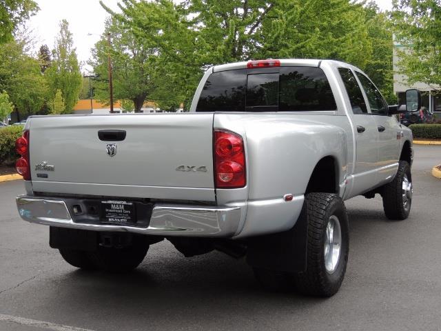 2008 Dodge Ram 3500 SLT 4dr Quad Cab / 4X4 / 6.7L DIESEL / BIGHORN ED - Photo 8 - Portland, OR 97217