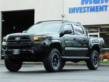 2018 Toyota Tacoma SR5 V6 Double Cab LIFTED Brand New Premium Wheels