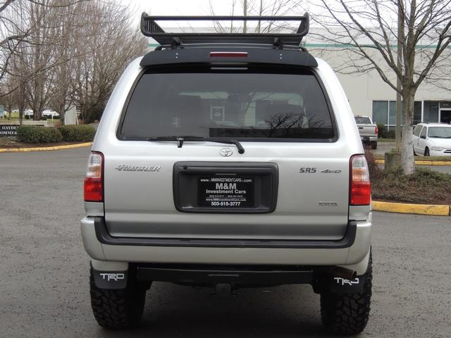 2001 Toyota 4Runner SPORT SR5 / 4X4 / Sunroof / LIFTED LIFTED - Photo 6 - Portland, OR 97217