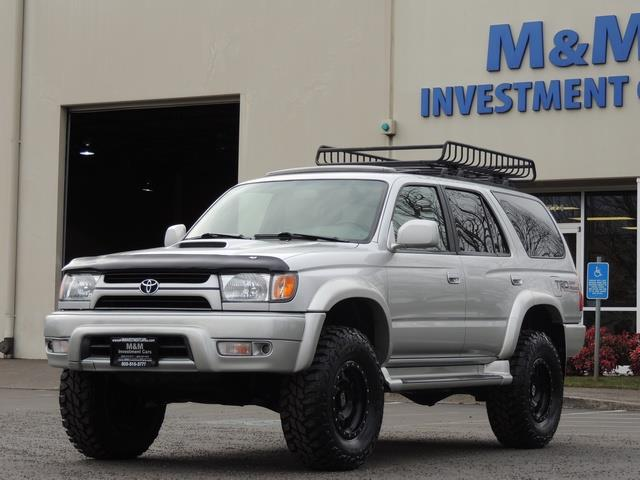 2001 Toyota 4Runner SPORT SR5 / 4X4 / Sunroof / LIFTED LIFTED - Photo 42 - Portland, OR 97217