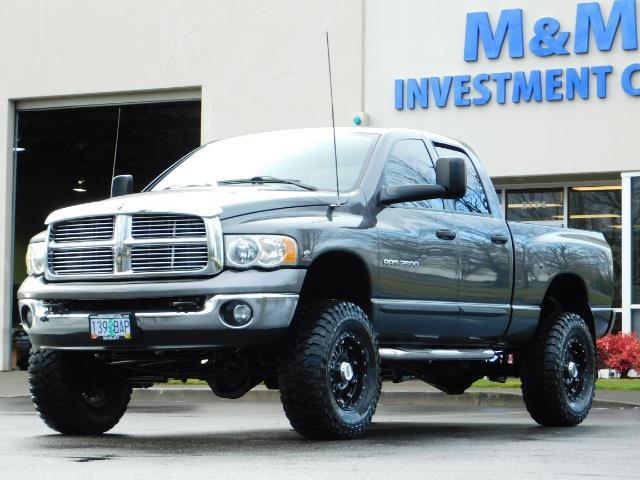 2004 Dodge Ram 2500 SLT 4X4 / Diesel 5.9L / 6-SPEED / 128k Mi LIFTED - Photo 48 - Portland, OR 97217