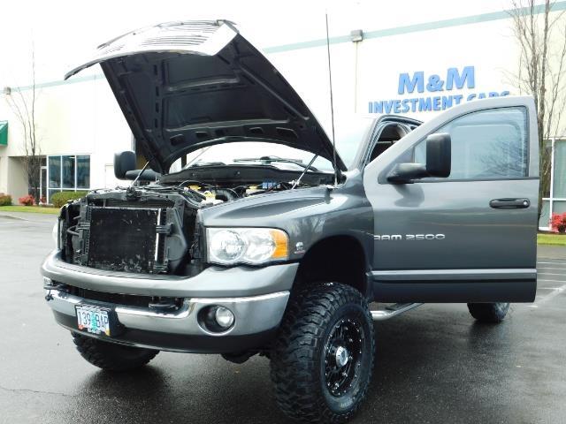 2004 Dodge Ram 2500 SLT 4X4 / Diesel 5.9L / 6-SPEED / 128k Mi LIFTED - Photo 47 - Portland, OR 97217