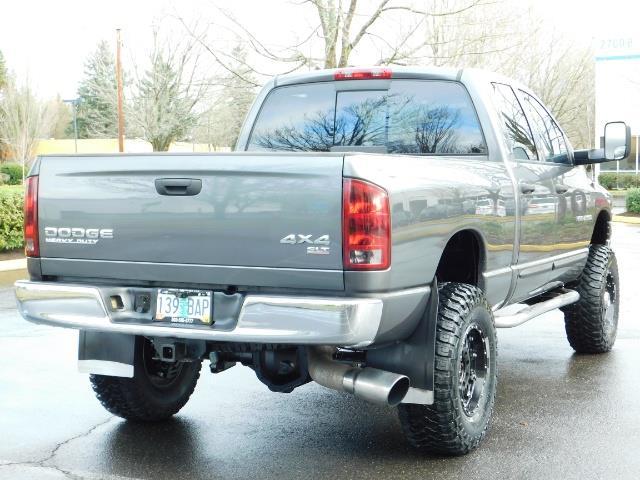 2004 Dodge Ram 2500 SLT 4X4 / Diesel 5.9L / 6-SPEED / 128k Mi LIFTED - Photo 8 - Portland, OR 97217