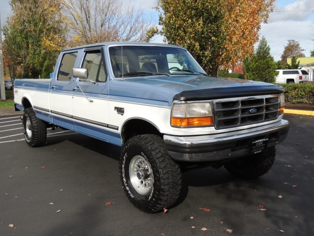 7.3 Powerstroke Trucks For Sale >> 1997 Ford F-350 CREW CAB / 4X4 / 7.3 Turbo DIesel /LongBed/ LIFTED