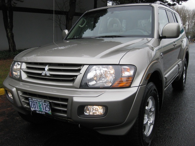 2002 Mitsubishi Montero Limited / 4WD / V6 / 3RD Seat / Leather / Loaded - Photo 53 - Portland, OR 97217