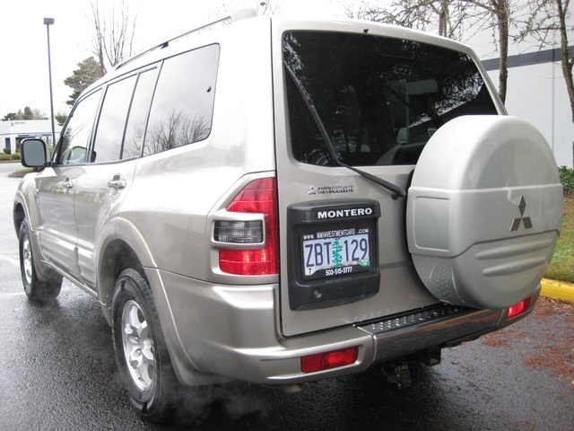 2002 Mitsubishi Montero Limited / 4WD / V6 / 3RD Seat / Leather / Loaded - Photo 50 - Portland, OR 97217
