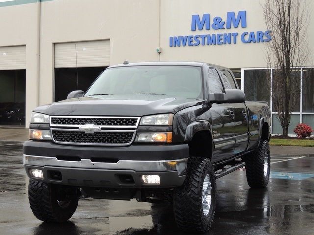 2005 chevrolet silverado 2500 ls 4x4 6 6l duramax long bed 1 owner lifted. Black Bedroom Furniture Sets. Home Design Ideas