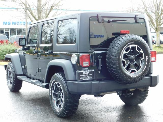 2012 Jeep Wrangler Unlimited Sport / 4x4 / Hard Top / 1-Owner - Photo 7 - Portland, OR 97217