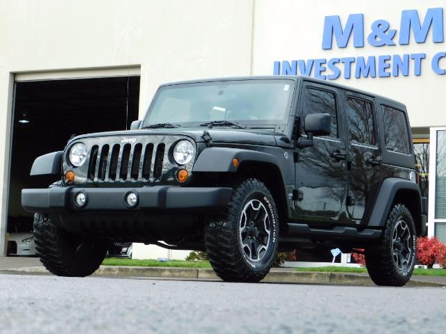 2012 Jeep Wrangler Unlimited Sport / 4x4 / Hard Top / 1-Owner - Photo 38 - Portland, OR 97217