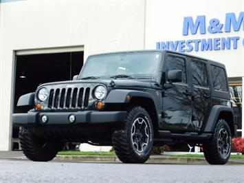 2012 Jeep Wrangler Unlimited Sport / 4x4 / Hard Top / 1-Owner SUV