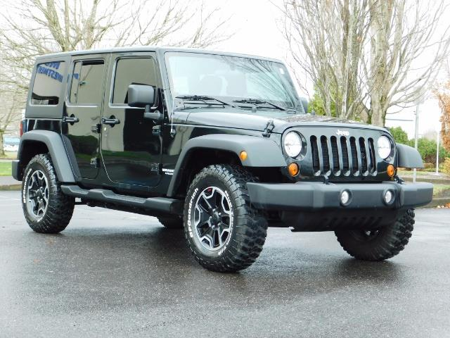 2012 Jeep Wrangler Unlimited Sport / 4x4 / Hard Top / 1-Owner - Photo 2 - Portland, OR 97217